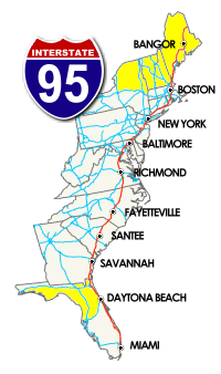 Great Overnight Stops | I-95 Exit Guide