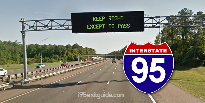 """Keep Right Except to Pass"" Laws for I-95 States"