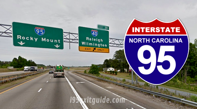 I-95 Construction | Rocky Mount North Carolina | I-95 Exit Guide