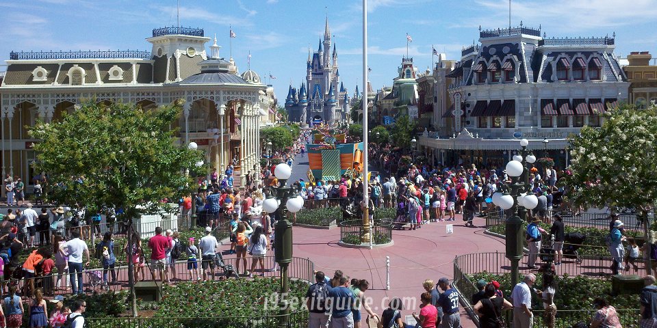 Disneyworld's Magic Kingdom | I-95 Exit Guide