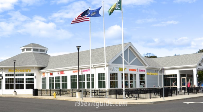 Connecticut's I-95 Service Plazas Updated