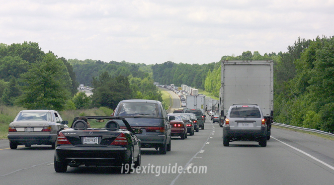 I-95 Fredericksburg, Virginia Traffic | I-95 Exit Guide