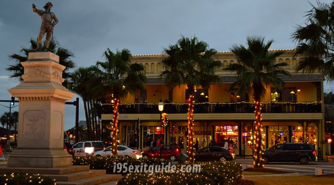 St. Augustine Christmas Holiday | I-95 Exit Guide