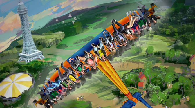 A Battle is Brewing at Kings Dominion Theme Park