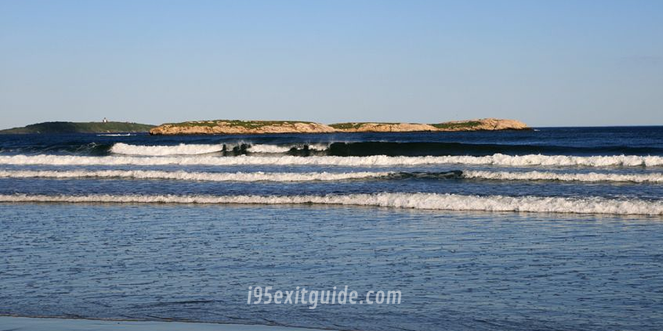 Popham Beach, Maine | I-95 Exit Guide