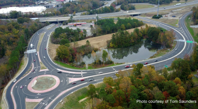 I-95 Interchange Project in Virginia Completed