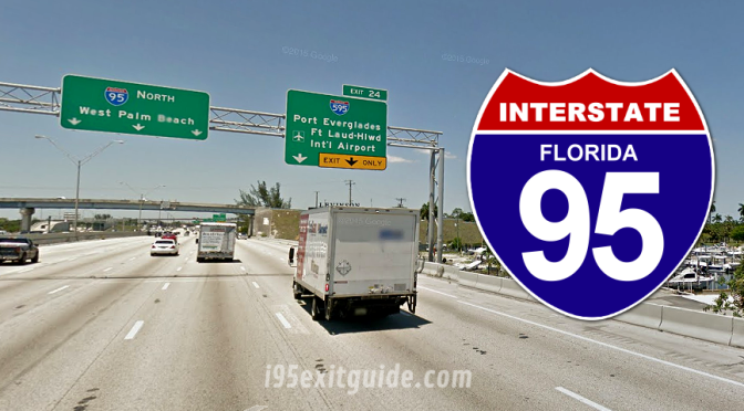 Detours, Lane Closures for I-95 Construction in South Florida