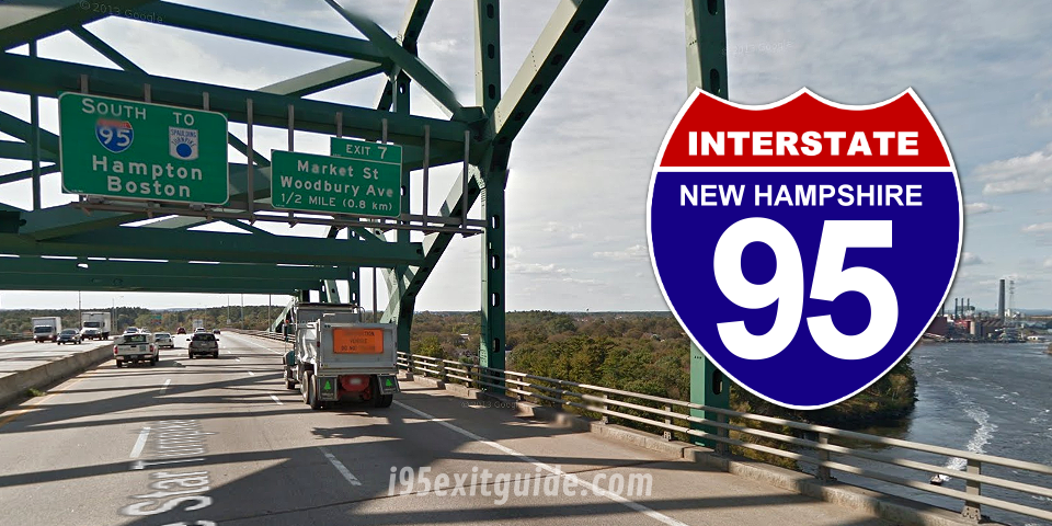 I-95 ORT Lanes to Close for Maintenance in New Hampshire