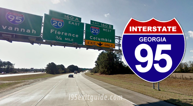 I-95 Construction | Northern Georgia | I-95 Exit Guide