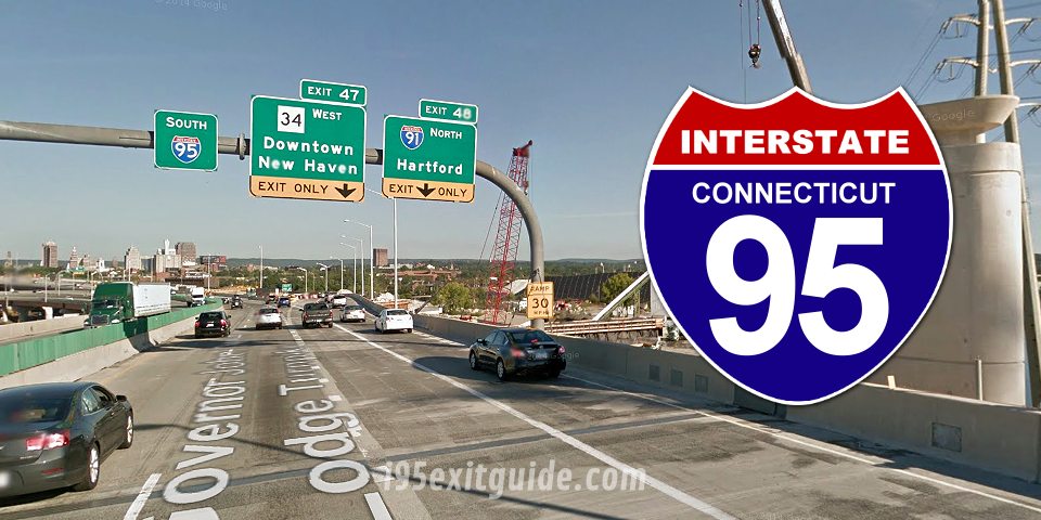 Lane Closures Scheduled for I-95 Bridge Work in New London Beginning April 12