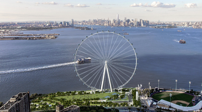 Construction of the World's Largest Observation Wheel Now Underway