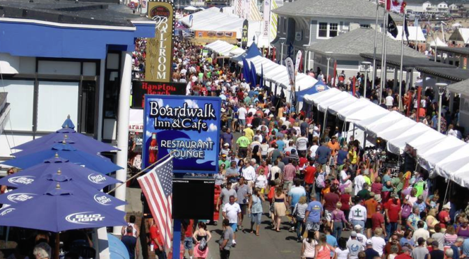 Let's Go to the Hampton Beach Seafood Festival!