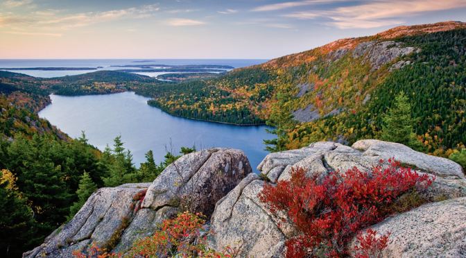 Late September is Peak Fall Foliage in Northwestern Vermont, Central and Northern New York