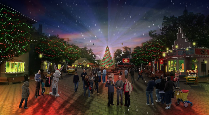 Celebrate Holiday in the Park at a Six Flags