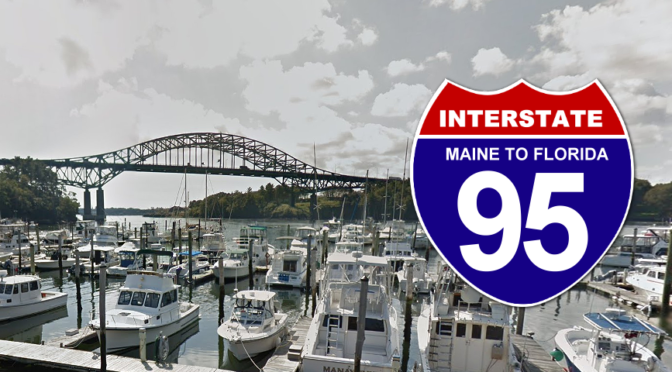 I-95 High Level Bridge in Portsmouth, New Hampshire | I-95 Exit Guide