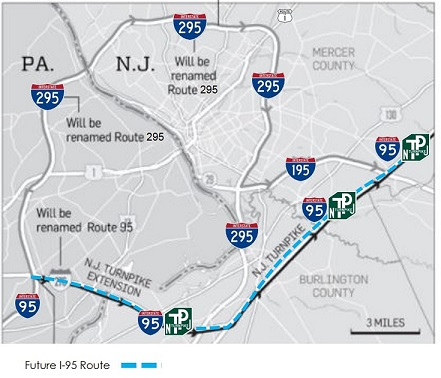 Future I-95 and I-295 Designation | I-95 Exit Guide